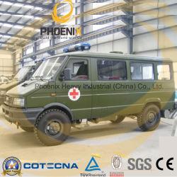 LHD 4X4 Iveco ambulanza con barella per uso militare