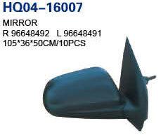 Electric Side-Mirror assemblée pour Chevrolet Aveo 2007 OEM#96648492/96648491/96458713/96458712