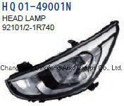 자동차 부속 Head-Lamps 아시리아는 Hyundai 악센트 Dodge 태도 2014-2016 92101-1r740/92102-1r740/92101-1r730/92102-1r730를 적합하다