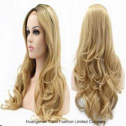 613 No Glueless Large Cap Black Women Brazilian Hair Full Lace Wig