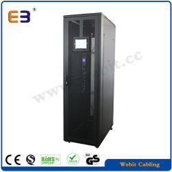 ネットワークリモート・コントロール機能機構の情報処理機能をもったスマートなサーバーラックキャビネット