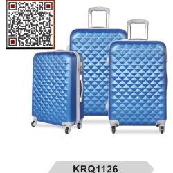 Hot Sale ABS 3PCS Disque Lugagge Trolley de voyage
