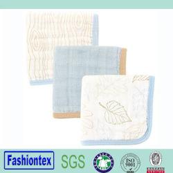 Impresión de algodón 100 bebés de tela personalizadas de muselina eructo del bebé