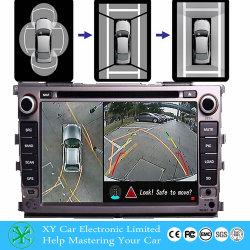4CH Mini Mdvr 4 vehículo de la cámara DVR Sistema de pantalla completa