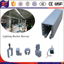 PVC-mobile Stromversorgungen-Beleuchtung-Laufkatze Busway