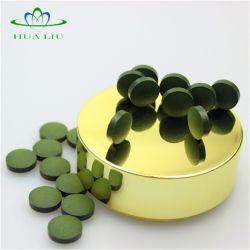 Pure et naturelle des aliments de santé Tablette de Spirulina platensis