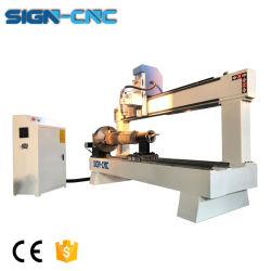 Routeur CNC la gravure sur bois de vérin de la machine de traitement de l'homme Sculpture 3D