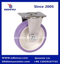 Le zinc ou du chrome métallique Roulette fixe