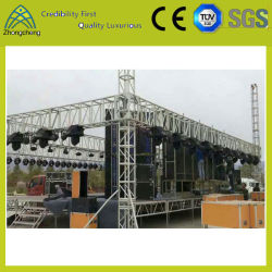 500mm*600mm Concert Le rendement du projet d'éclairage de vis de l'événement Truss
