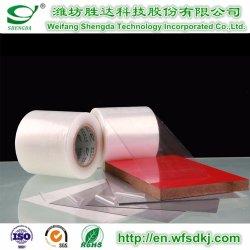 PE/PVC/Pet/PP Beschermende Film voor aluminium-Plastic Raad/het Houten Profiel van de Korrel