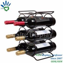 Rack de garrafas de vinho de ferro simples/ Suporte de Vinho