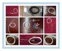 Imperméable de RDT de la sonde du capteur de température PT100 2 fils