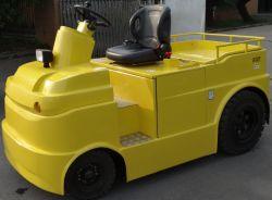 3 톤 산업 창고 건전지 전기 견인 트럭 트랙터