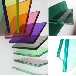 6,38-54,08 mm flaches/Gebogenes Dekoratives Sicherheitsgebäude, Beschichtete Glas