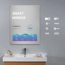 """21,5"""" de alta definição total com montagem em parede Espelho Mágico Publicidade Player Digital Signage"""
