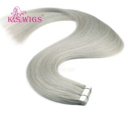 Extensions de cheveux de bande Bande humain Remy Hair Extension