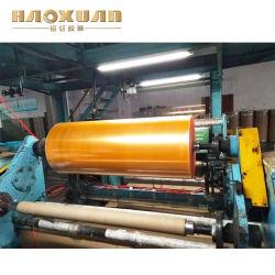 China Super cristalinas de color amarillento oro BOPP Jumbo Roll de la fábrica de cintas