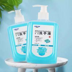 Fabricado en China sin alcohol líquido antibacterial manos jabón de manos higienizador/mano los jabones líquidos jabones de hogares productos desinfectantes/