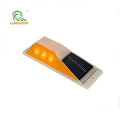 Corrimão de Solar de plástico retangular Delineator Double-Side Reflector LED 6 180*60*40mm