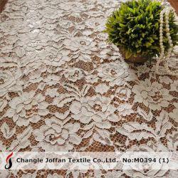 Fantasía textil Material de encaje tejido de encaje bordado Cable africana (M0394)
