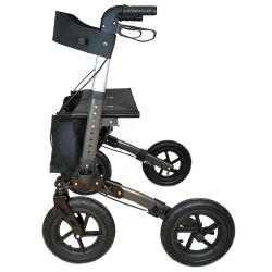 Venta andador Rollator caliente de rehabilitación para caminar al aire libre