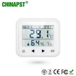 Detector van Temperature&Humidity van de Sensor van het Alarm van het Huis van de Groothandelsprijs de Draadloze (pst-TD2)