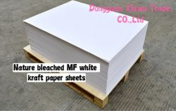 China Molino de papel kraft blanco papel Kraft mayorista distribuidor de hojas de papel