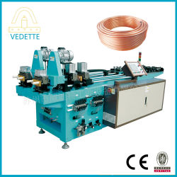 Automatisches Copper Coil Pipe Aluminum Pipe Cutting und Ende Forming Machine