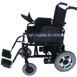 Fauteuil roulant électrique pliable facile/châssis fixe des fauteuils roulants électriques/Dimensions des fauteuils roulants électriques