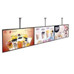 モニタのデジタルポスターメニューボードを広告する43インチの壁の台紙
