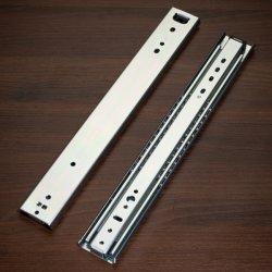Hardware de gabinete 53mm de largura, Serviço Pesado 16mm Gaveta grande conjunto de slides