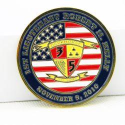 2018 сувенирный 3D-цинк сплав американского флага монеты