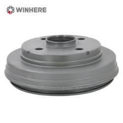 Tamburo del freno in ghisa integrale del mozzo dei ricambi auto verniciati/rivestiti di alta qualità Con ECE R90
