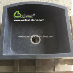 Conception personnalisée moderne en pierre naturelle avec la sculpture du dissipateur de lavage