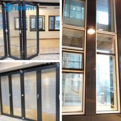 De in het groot Lage Muur van het Venster van het Aluminium Storefront van E Thermische, de Zware Buiten Binnenlandse Aangemaakte Schuifdeur van het Glas, de Verdeling van het Glas, het Venster van het Aluminium van het Glas