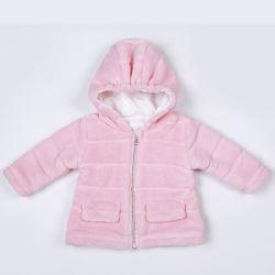 아이들과 유아의 품목 최고 연약한 산호 양털 재킷