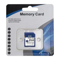 16MB, 32Mb, 64MB 128 MB, 256 MB, 512 MB, 1 GB de cartão SD de 2 GB de memória flash Secure Digital para a câmara