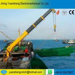 China-Hersteller 4 Tonnen-hydraulischer Boots-Kran für das Anheben