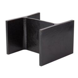 Acero laminado en caliente H viga de acero de material de construcción