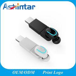 Беспроводные наушники Tws Bluetooth гарнитуры с беспроводной зарядное устройство USB Sport