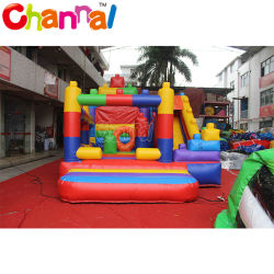 Hot château gonflable avec toboggan Inflatable Bouncing Chambre Inflatable bouncer