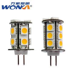 Alto Lúmen 12VAC/DC de saída G4 Lâmpada de pino de BI LED 3W para lavagem de parede Luminária