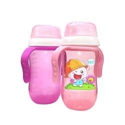 Bouteilles d'eau de la Formation de transition bébé Sippy tasses avec bec souple