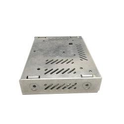 DIY Piscina HiFi 200W 1U de 4 canais de rádio de potência do amplificador de áudio do chassi de alumínio gabinete caixa do alto-falante