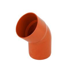Codo de 45 grados de plástico M/F (DIN Tubo de PVC la colocación de drenaje) 110mm espita