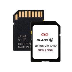 Класс10 32 ГБ 64ГБ карта памяти SD черного цвета с желтым ползунок и сменные Cid для автомобильной навигации GPS