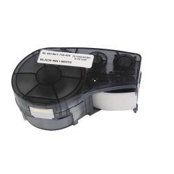 Contrassegno compatibile del nastro della stampante per il nero del nastro 19.1mm 4.9m di Brady M21-750-499 su nastro di nylon bianco del contrassegno