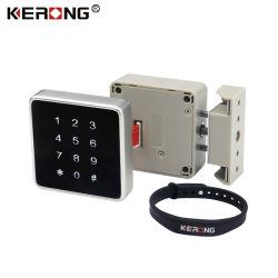 Combinaison numérique sans clé électronique KERONG Casier petite écluse de carte RFID à des fins privées, penderie armoire tiroir