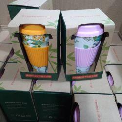 Дружественность к окружающей среде легкий чашки биоразлагаемых кружки пластиковые тумблерный для воды, кофе и молока