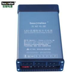 دعم نموذج مجاني لحافظة المفاتيح السعر 12 فولت 700 واط طاقة LED ثابتة إمداد طاقة مقاومة المطر في الهواء الطلق